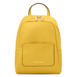 TL Bag Small soft leather backpack for women Yellow TL142052