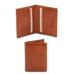 Elegante porta tarjetas en piel Miel TL142063