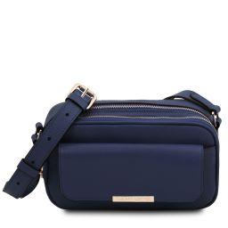 TL Bag Bolso cámara en piel Azul oscuro TL142084