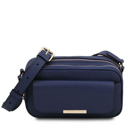 TL Bag Leather camera bag Темно-синий TL142084
