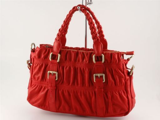 Samantha Borsa donna in pelle Rosso TL100334