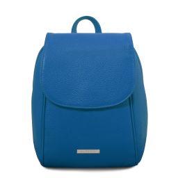 TL Bag Soft leather backpack Blue TL141905