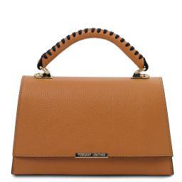 TL Bag Leather handbag Cognac TL142111