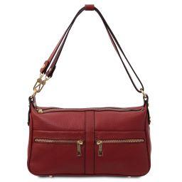 TL Bag Borsa a spalla in pelle Rosso TL142133