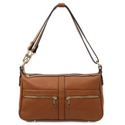 TL Bag Borsa a spalla in pelle Cognac TL142133