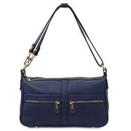 TL Bag Borsa a spalla in pelle Blu scuro TL142133