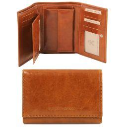 Эксклюзивный кожаный бумажник для женщин Мед TL141314