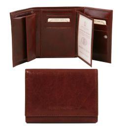 Эксклюзивный кожаный бумажник для женщин Коричневый TL140790