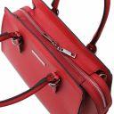 TL Bag Handtasche aus Leder Lipstick Rot TL142147