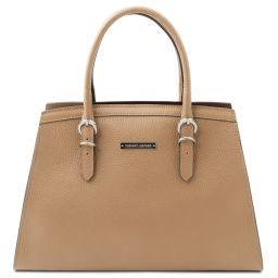 TL Bag Handtasche aus Leder Champagne TL142147