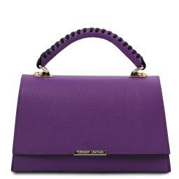 TL Bag Leather handbag Purple TL142111