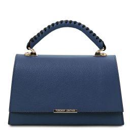 TL Bag Borsa a mano in pelle Blu scuro TL142111
