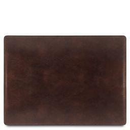 Carpeta para escritorio en piel Marrón oscuro TL141892