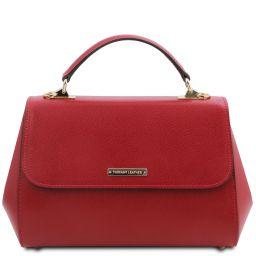 TL Bag Borsa a mano in pelle - Misura grande Rosso TL142077