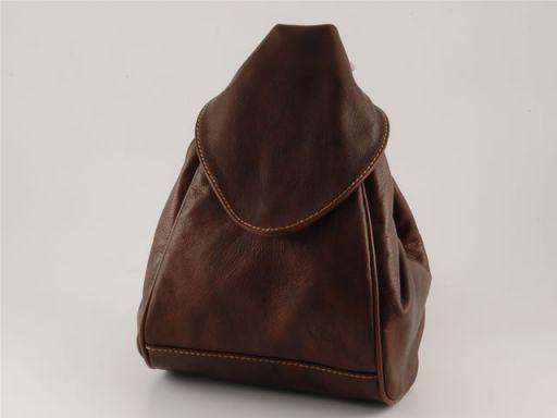 Manila Leather backpack Коричневый TL140444