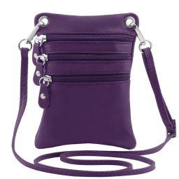 TL Bag Sac bandoulière en cuir souple Violet TL141368