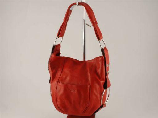 Lara Borsa donna in pelle Rosso TL100480