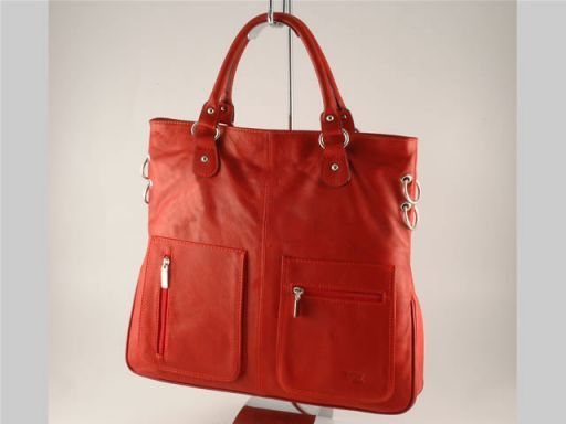 Camilla Lady leather bag Red TL140491