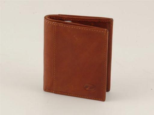 Esclusivo portacarte di credito in pelle Marrone TL140504